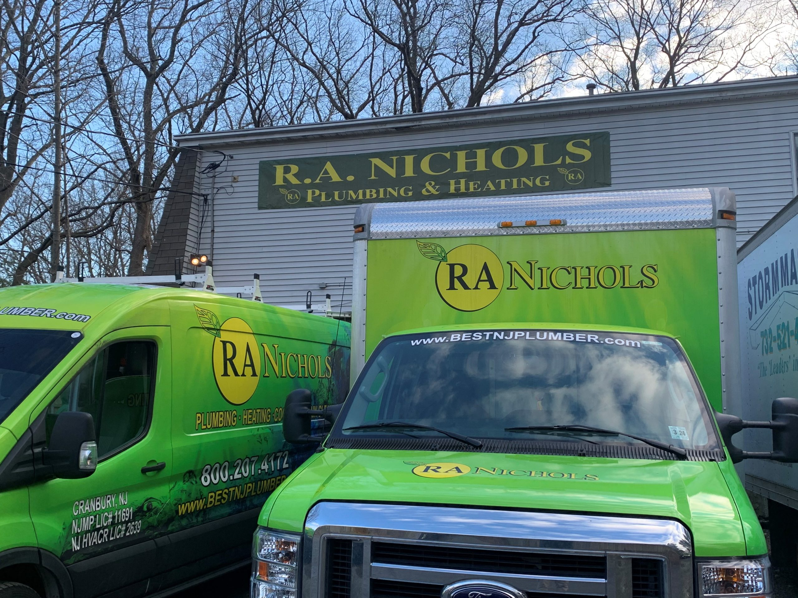 About Us Helmetta Nj R A Nichols Plumbing Heating Cooling Drain Cleaning